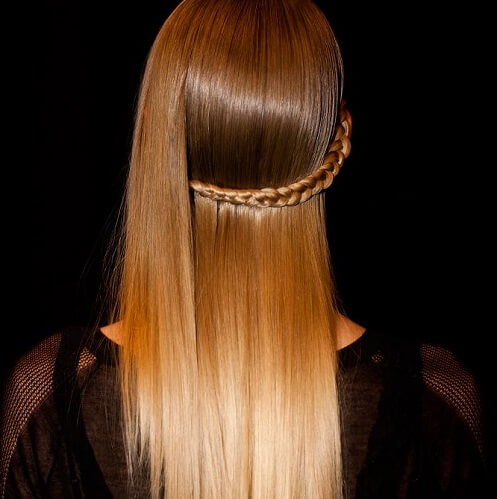 light brown triple ombre