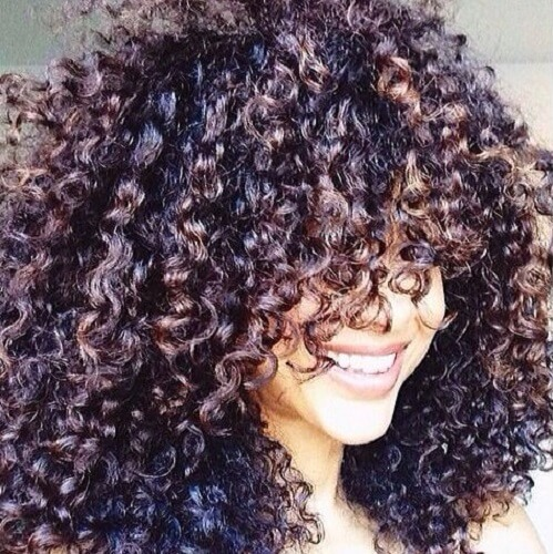 big curly hair