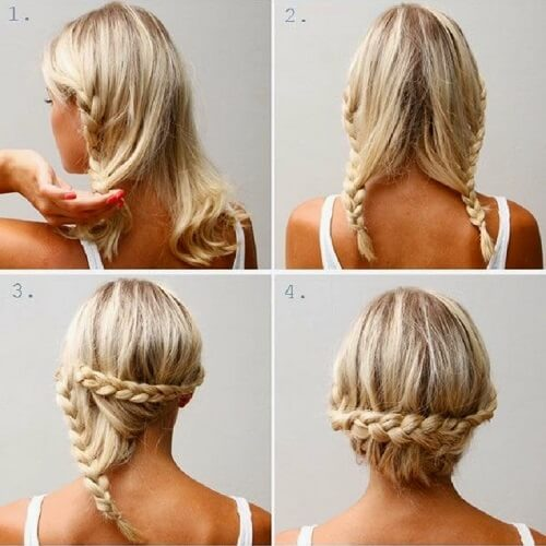 Back Braided Crown
