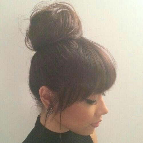 Bangs and Updo