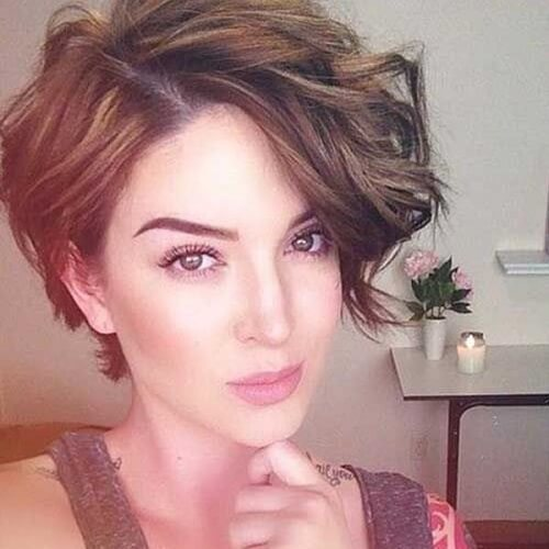 pixie cut bob hair