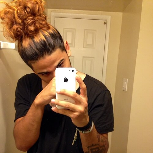 Big Ponytail Bun