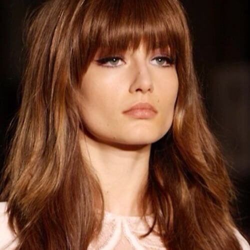 Natural Brown Hair Color Pictures