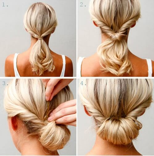 Classic and Classy Low Bun