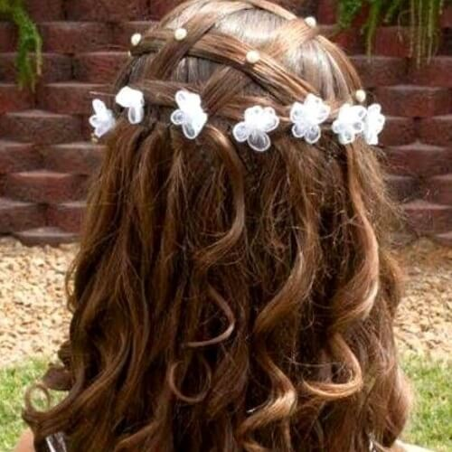 Communion Hairstyles for Long Hair