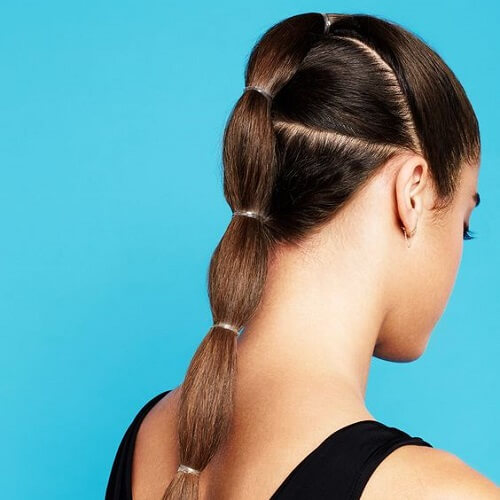 connected ponytail