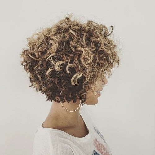 Curls and Highlights