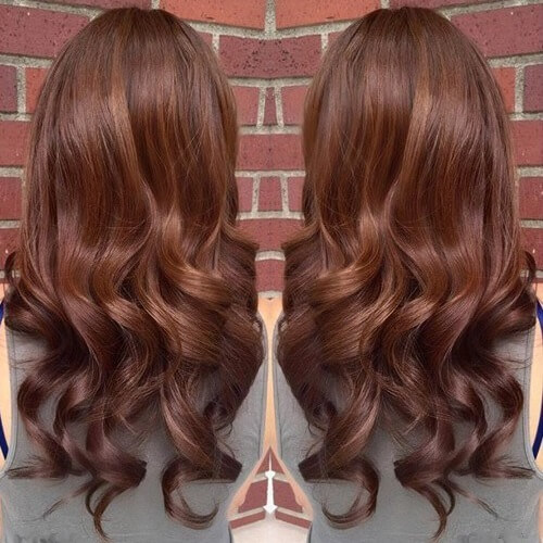 Summer hair colors for tan skin