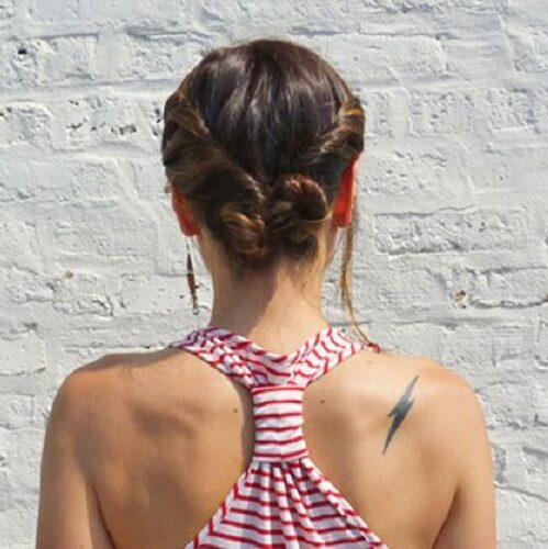 Double Side Twists Bun