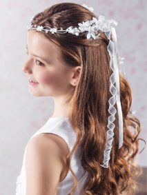 First Communion Hairstyle