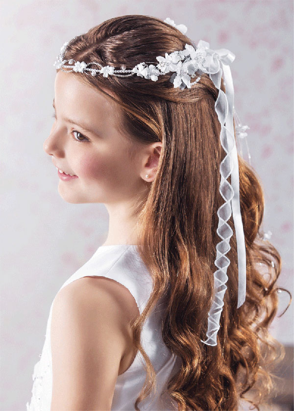 First Communion Hairstyles Ideas Hair Motive