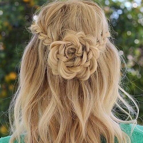 Hair Flower Crown