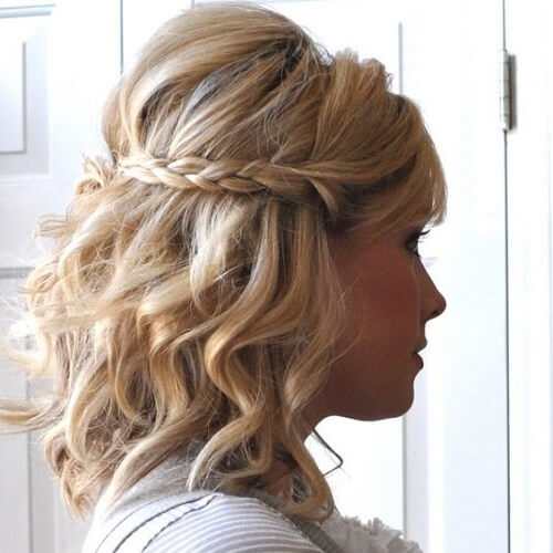 60 Medium Hair Updos That Are As Easy As 1 2 3 Hair Motive Hair Motive
