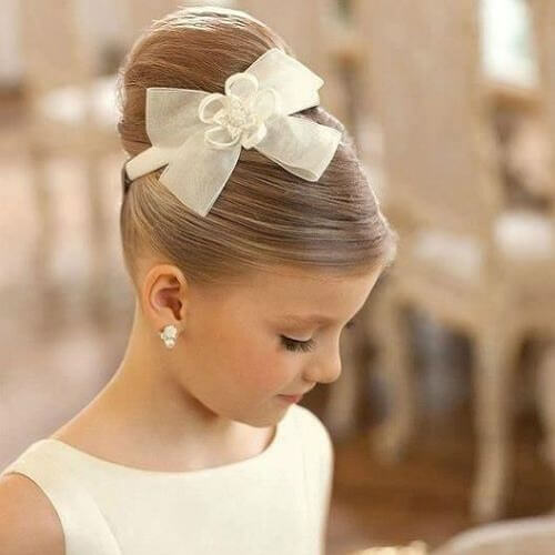 Holy Communion Hairstyles Updo
