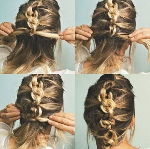 Linked Updo