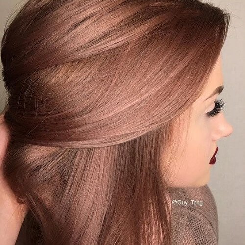 Fall Hair Colors For Brown Skin