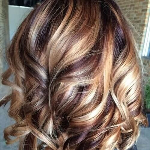 Pictures Of Chestnut Hair Color With Highlights Dark Brown ...