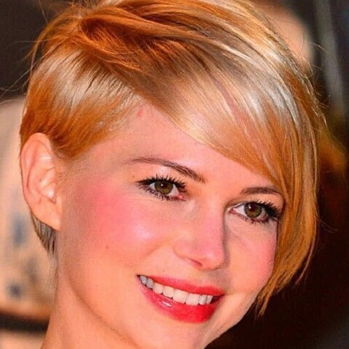 pixie haircut with bangs