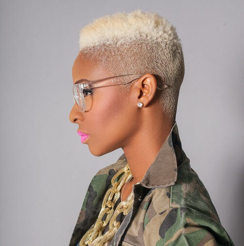 50 Wicked Shaved Hairstyles For Black Women Hair Motive