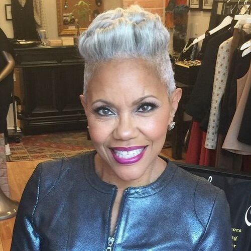 Shaved Hairstyles for Black Women Over 50
