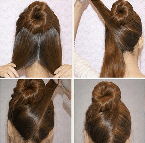 Side Wrap Bun