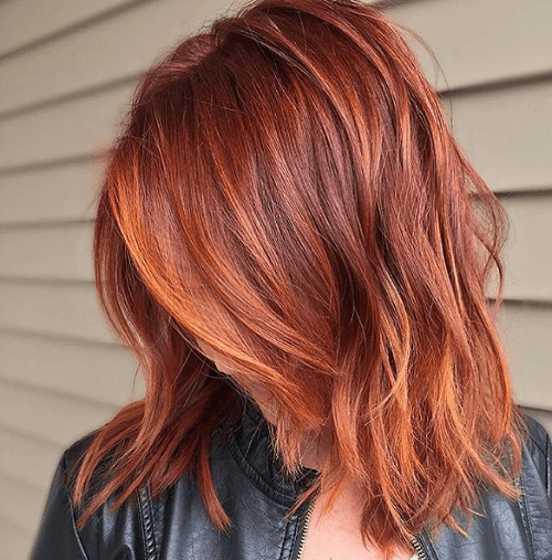 red and orange highlights