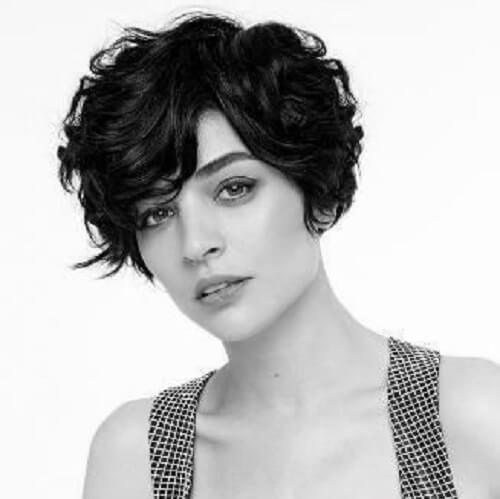 short wavy hair cut