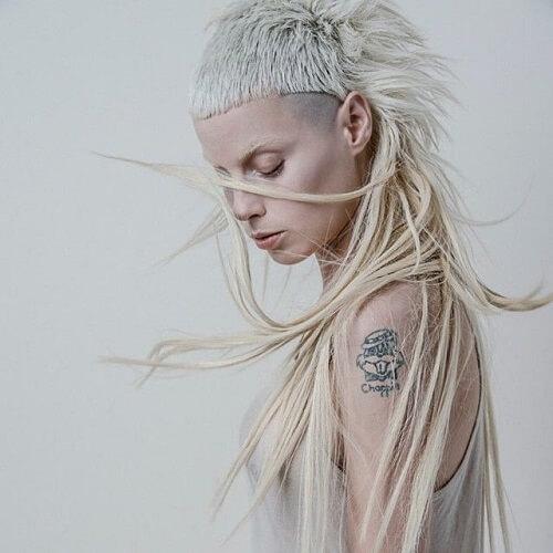 yolandi visser hairstyle