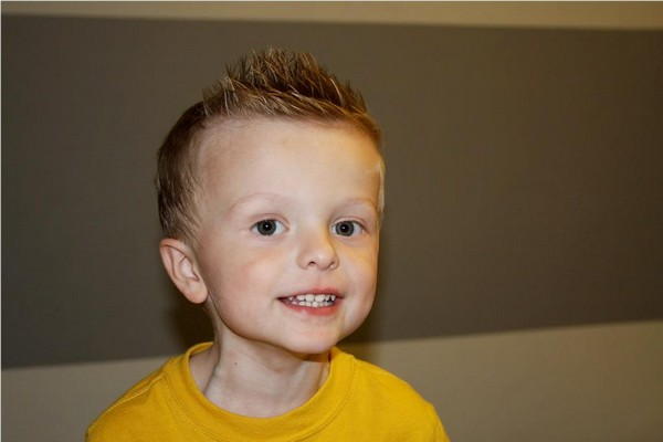 crew cut hairdo for little boys