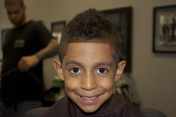 little mohawk haircut for boys