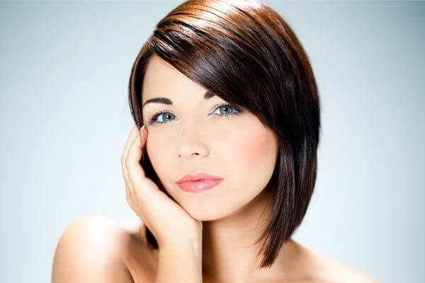 smooth and sleek bob haircut
