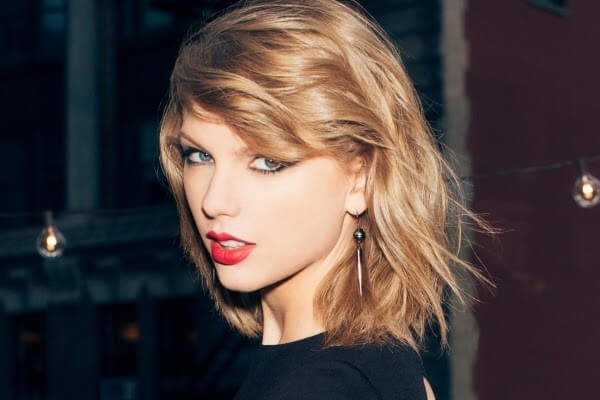 taylor swift gorgeous bob haircut