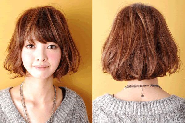 puffy bob haircut