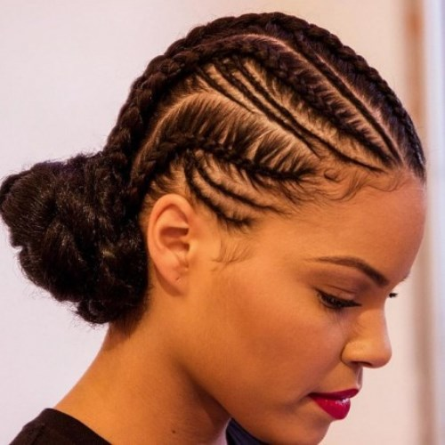 Cornrow-Braided-Hairstyles-For-Black-Women