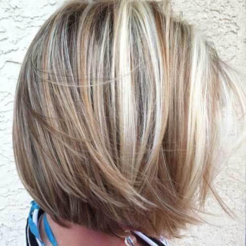 lowlights in light brown hair