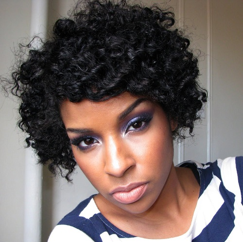 Natural Hair Flat Twist Out