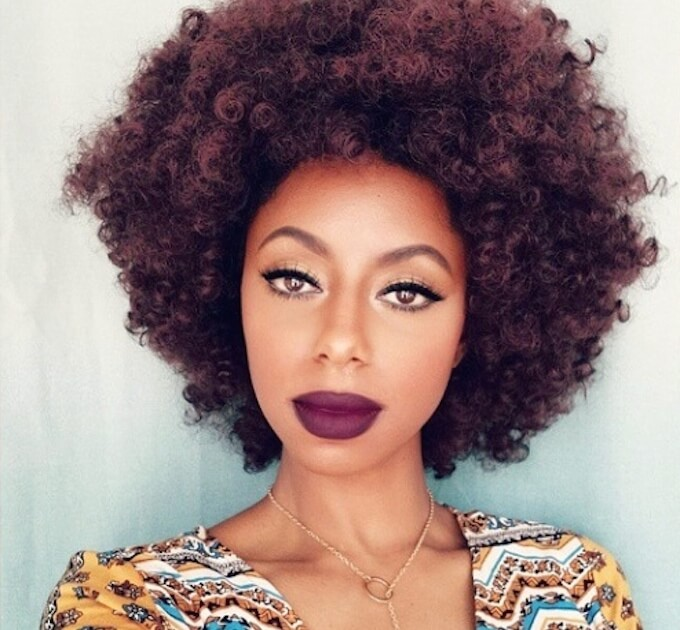 50 astonishing hairstyles for brown hair with lowlights and purple afro pmusecretfo Choice Image