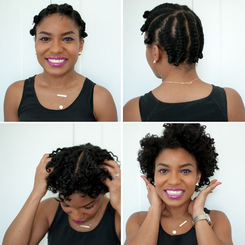 flat-twists-for-short-hair