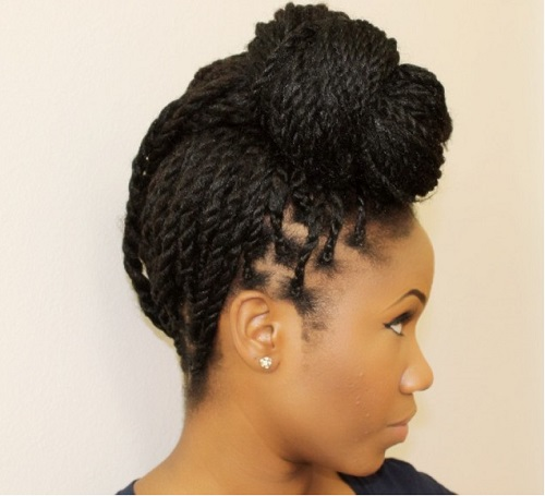 45 Catchy and Pratical Flat Twist Hairstyles | Hair Motive