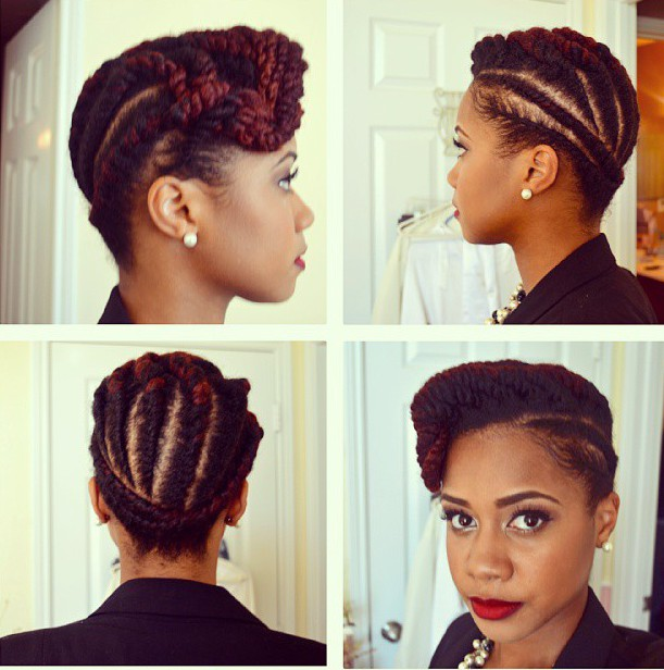50 Catchy And Practical Flat Twist Hairstyles Hair Motive Hair Motive