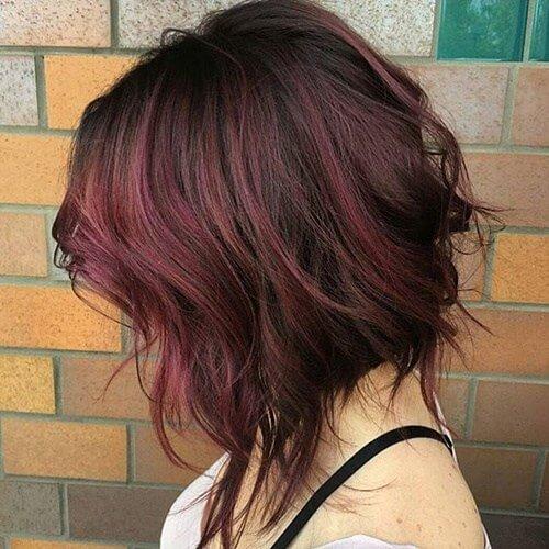 wavy-tousled-burgundy-bob