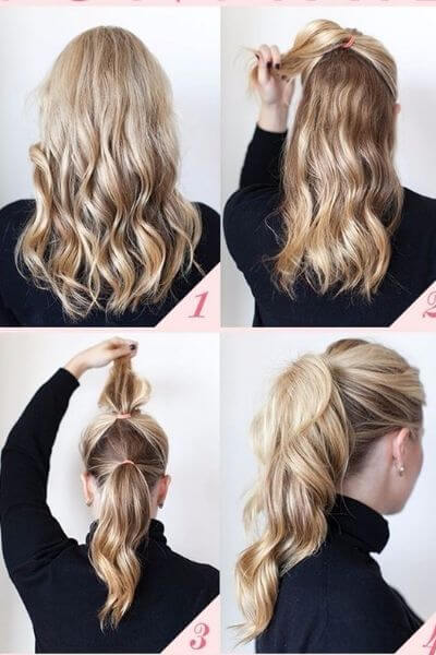 1 Minute Fabulous Ponytail Hairstyle