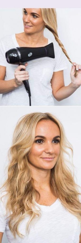 Easy Hairstyles for School - 5 Minute Hairdryer Beach Waves for Breezy Mornings