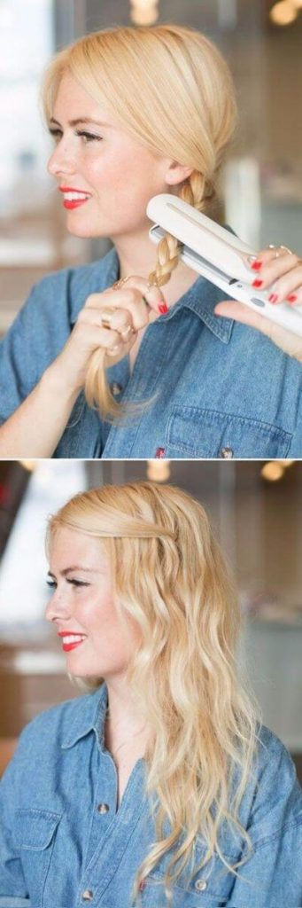 5-Minute Flat Iron Beach Waves for Easy Days