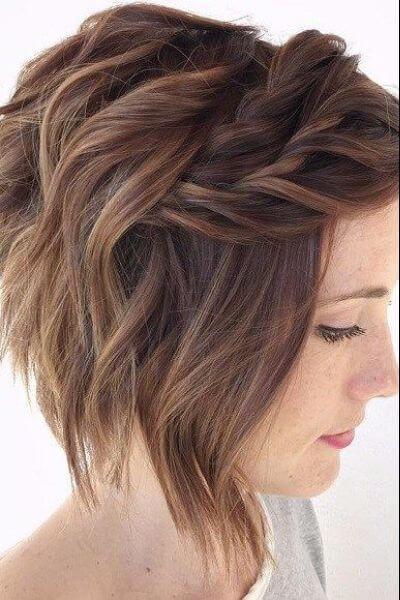 65 Irresistible Short Wavy Hairstyles Hair Motive Hair - Black Hair Braid Hairstyles