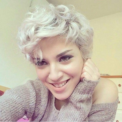 Tousled Pixie Cut Hairstyle