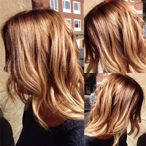 blonde balayage on long hair