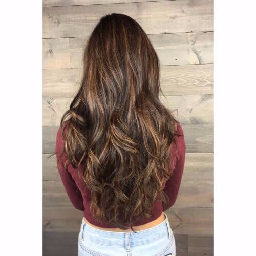 80 balayage highlights ideas for every hair color hair motive balayage highlights on dark brown hair brown hair balayage urmus Images