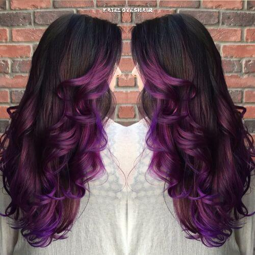 Spruce Up Your Purple With An Ombre 50 Ideas Worth Checking