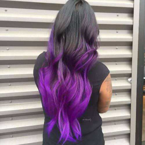 50 purple ombre hair ideas worth checking out hair motive hair purple and blonde hair urmus Choice Image